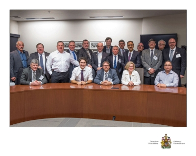 BTA meets with Prime Minister Justin Trudeau