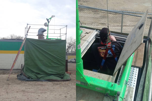 District Council 17 Confined Space Training