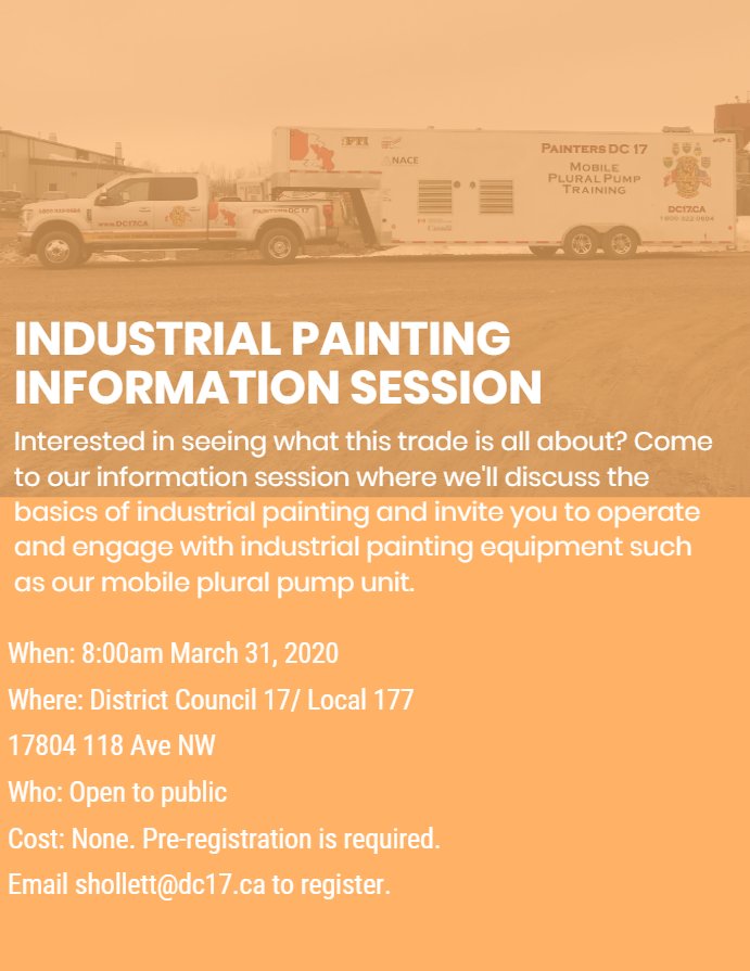 industrial painting information session